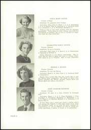 Page 14, 1953 Edition, Wells High School - Abenaki Yearbook (Wells, ME) online yearbook collection