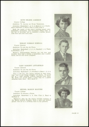 Page 15, 1953 Edition, Wells High School - Abenaki Yearbook (Wells, ME) online yearbook collection