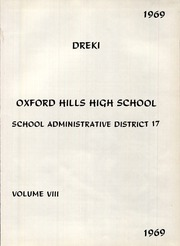 Page 5, 1969 Edition, Oxford Hills High School - Dreki Yearbook (South Paris, ME) online yearbook collection