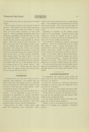 Page 11, 1927 Edition, Westbrook High School - Blue and White Yearbook (Westbrook, ME) online yearbook collection