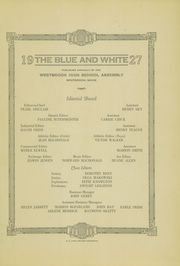 Page 3, 1927 Edition, Westbrook High School - Blue and White Yearbook (Westbrook, ME) online yearbook collection