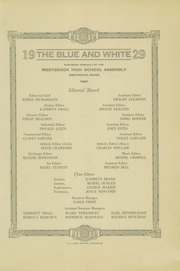 Page 3, 1929 Edition, Westbrook High School - Blue and White Yearbook (Westbrook, ME) online yearbook collection