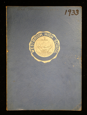 Page 1, 1933 Edition, Westbrook High School - Blue and White Yearbook (Westbrook, ME) online yearbook collection