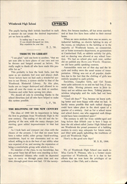 Page 11, 1933 Edition, Westbrook High School - Blue and White Yearbook (Westbrook, ME) online yearbook collection