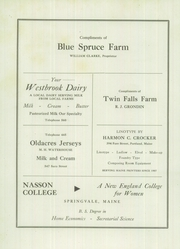 Page 96, 1945 Edition, Westbrook High School - Blue and White Yearbook (Westbrook, ME) online yearbook collection