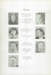 Page 12, 1948 Edition, Westbrook High School - Blue and White Yearbook (Westbrook, ME) online yearbook collection