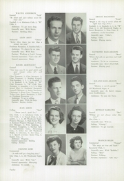 Page 14, 1948 Edition, Westbrook High School - Blue and White Yearbook (Westbrook, ME) online yearbook collection