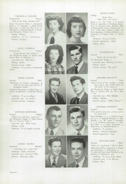 Page 16, 1948 Edition, Westbrook High School - Blue and White Yearbook (Westbrook, ME) online yearbook collection