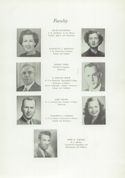 Page 11, 1949 Edition, Westbrook High School - Blue and White Yearbook (Westbrook, ME) online yearbook collection