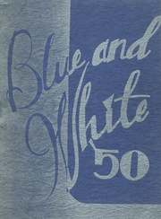 1950 Edition, Westbrook High School - Blue and White Yearbook (Westbrook, ME)