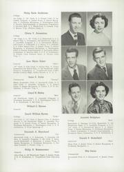 Page 12, 1950 Edition, Westbrook High School - Blue and White Yearbook (Westbrook, ME) online yearbook collection