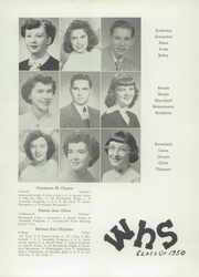 Page 13, 1950 Edition, Westbrook High School - Blue and White Yearbook (Westbrook, ME) online yearbook collection