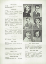 Page 14, 1950 Edition, Westbrook High School - Blue and White Yearbook (Westbrook, ME) online yearbook collection