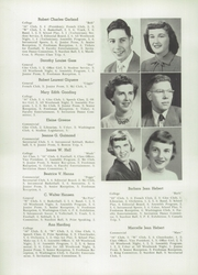 Page 16, 1950 Edition, Westbrook High School - Blue and White Yearbook (Westbrook, ME) online yearbook collection