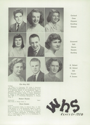 Page 17, 1950 Edition, Westbrook High School - Blue and White Yearbook (Westbrook, ME) online yearbook collection
