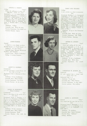 Page 16, 1953 Edition, Westbrook High School - Blue and White Yearbook (Westbrook, ME) online yearbook collection
