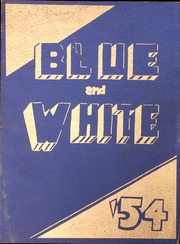 1954 Edition, Westbrook High School - Blue and White Yearbook (Westbrook, ME)