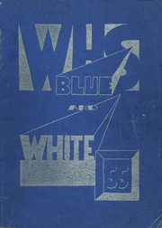 1955 Edition, Westbrook High School - Blue and White Yearbook (Westbrook, ME)