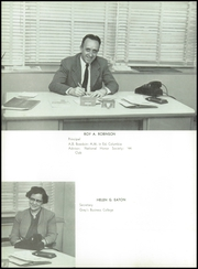 Page 10, 1956 Edition, Westbrook High School - Blue and White Yearbook (Westbrook, ME) online yearbook collection