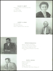 Page 11, 1956 Edition, Westbrook High School - Blue and White Yearbook (Westbrook, ME) online yearbook collection