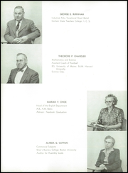 Page 12, 1956 Edition, Westbrook High School - Blue and White Yearbook (Westbrook, ME) online yearbook collection