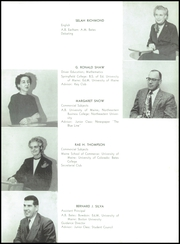 Page 15, 1956 Edition, Westbrook High School - Blue and White Yearbook (Westbrook, ME) online yearbook collection