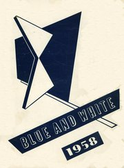 1958 Edition, Westbrook High School - Blue and White Yearbook (Westbrook, ME)