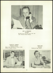Page 12, 1958 Edition, Westbrook High School - Blue and White Yearbook (Westbrook, ME) online yearbook collection