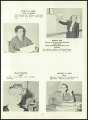 Page 17, 1958 Edition, Westbrook High School - Blue and White Yearbook (Westbrook, ME) online yearbook collection