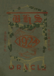 Page 1, 1924 Edition, Bangor High School - Oracle Yearbook (Bangor, ME) online yearbook collection