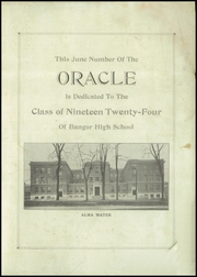 Page 3, 1924 Edition, Bangor High School - Oracle Yearbook (Bangor, ME) online yearbook collection
