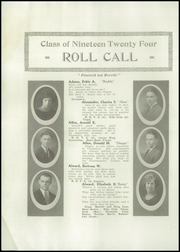 Page 8, 1924 Edition, Bangor High School - Oracle Yearbook (Bangor, ME) online yearbook collection