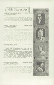 Page 11, 1926 Edition, Lewiston High School - Folio Yearbook (Lewiston, ME) online yearbook collection