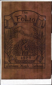 Page 1, 1927 Edition, Lewiston High School - Folio Yearbook (Lewiston, ME) online yearbook collection