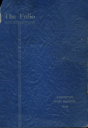 Page 1, 1948 Edition, Lewiston High School - Folio Yearbook (Lewiston, ME) online yearbook collection