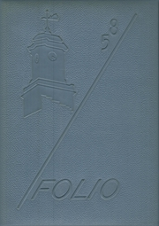 Lewiston High School - Folio Yearbook (Lewiston, ME) online yearbook collection, 1958 Edition, Page 1