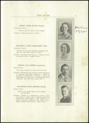 Page 11, 1937 Edition, Skowhegan High School - Lever Yearbook (Skowhegan, ME) online yearbook collection