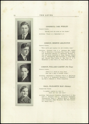 Page 16, 1937 Edition, Skowhegan High School - Lever Yearbook (Skowhegan, ME) online yearbook collection