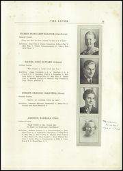 Page 17, 1937 Edition, Skowhegan High School - Lever Yearbook (Skowhegan, ME) online yearbook collection
