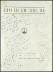 Page 3, 1947 Edition, Skowhegan High School - Lever Yearbook (Skowhegan, ME) online yearbook collection