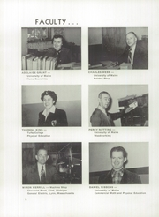 Page 10, 1954 Edition, Skowhegan High School - Lever Yearbook (Skowhegan, ME) online yearbook collection