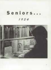 Page 13, 1954 Edition, Skowhegan High School - Lever Yearbook (Skowhegan, ME) online yearbook collection