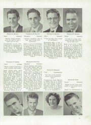 Page 15, 1954 Edition, Skowhegan High School - Lever Yearbook (Skowhegan, ME) online yearbook collection