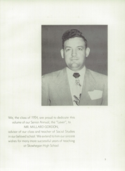 Page 7, 1954 Edition, Skowhegan High School - Lever Yearbook (Skowhegan, ME) online yearbook collection