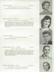 Page 17, 1958 Edition, Skowhegan High School - Lever Yearbook (Skowhegan, ME) online yearbook collection