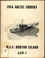 Page 1, 1954 Edition, Burton Island (AGB 1) - Naval Cruise Book online yearbook collection