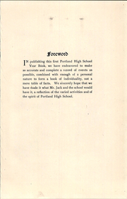 Page 15, 1921 Edition, Portland High School - Totem Yearbook (Portland, ME) online yearbook collection