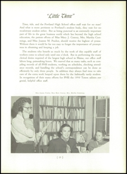 Page 17, 1950 Edition, Portland High School - Totem Yearbook (Portland, ME) online yearbook collection