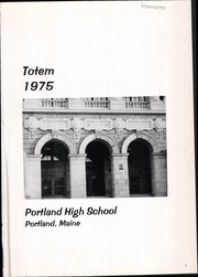 Page 5, 1975 Edition, Portland High School - Totem Yearbook (Portland, ME) online yearbook collection