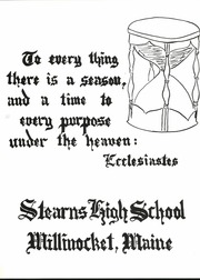 Page 5, 1967 Edition, Stearns High school - Northern Lights Yearbook (Millinocket, ME) online yearbook collection
